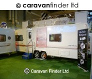 Bailey Unicorn Barcelona 2012 4 berth Caravan Thumbnail