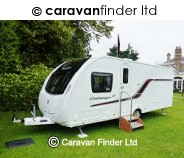 Swift Challenger 580 SE 2015 4 berth Caravan Thumbnail